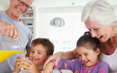 Scheiden: kinderen en oma en opa