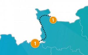 etappe 1 - Scheidingsplanner Maastricht   Heerlen   Gulpen