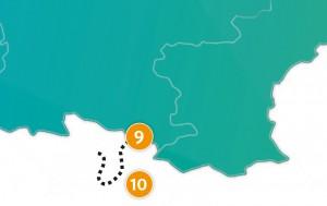 etappe 10 - Scheidingsplanner Maastricht   Heerlen   Gulpen