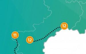etappe 12 - Scheidingsplanner Maastricht   Heerlen   Gulpen