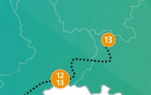 etappe 13 - Scheidingsplanner Maastricht   Heerlen   Gulpen