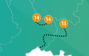 etappe 14 - Scheidingsplanner Maastricht   Heerlen   Gulpen