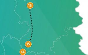 etappe 15 - Scheidingsplanner Maastricht   Heerlen   Gulpen