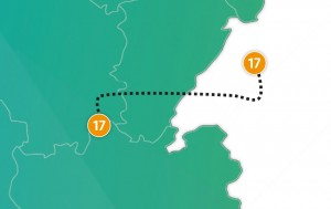 etappe 17 - Scheidingsplanner Maastricht   Heerlen   Gulpen