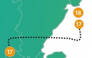 etappe 18 - Scheidingsplanner Maastricht   Heerlen   Gulpen