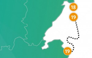 etappe 19 - Scheidingsplanner Maastricht   Heerlen   Gulpen