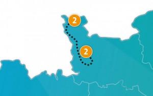 etappe 2 - Scheidingsplanner Maastricht   Heerlen   Gulpen