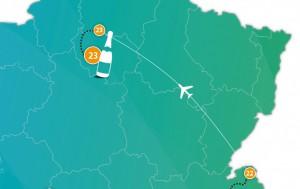 etappe 23 - Scheidingsplanner Maastricht   Heerlen   Gulpen