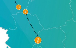 etappe 4 - Scheidingsplanner Maastricht   Heerlen   Gulpen