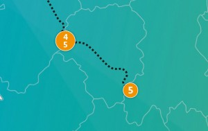etappe 5 - Scheidingsplanner Maastricht   Heerlen   Gulpen