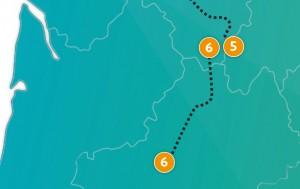 etappe 6 - Scheidingsplanner Maastricht   Heerlen   Gulpen