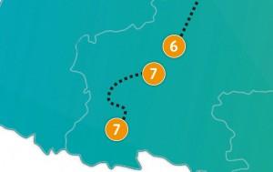 etappe 7 - Scheidingsplanner Maastricht   Heerlen   Gulpen