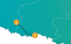 etappe 8 - Scheidingsplanner Maastricht   Heerlen   Gulpen