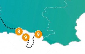 etappe 9 - Scheidingsplanner Maastricht   Heerlen   Gulpen