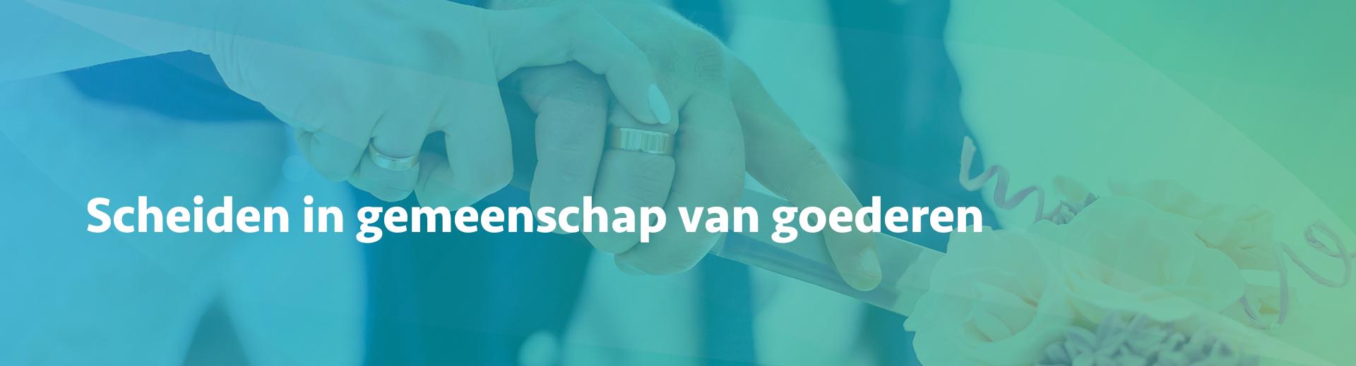 scheiden in gemeenschap van goederen - Scheidingsplanner Maastricht - Heerlen - Gulpen